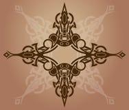 Het ontwerpelement van de tatoegering vector illustratie