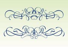 Het ontwerpelementen van de Jugendstil royalty-vrije stock afbeeldingen