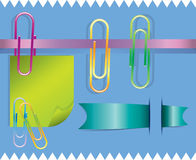 Het ontwerpelementen van de kantoorbehoeften Royalty-vrije Stock Afbeelding