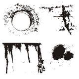 Het ontwerpelementen van Grunge Stock Afbeelding