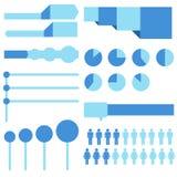 Het ontwerpelementen van Infographic Royalty-vrije Illustratie