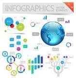 Het ontwerpelementen van Infographic Stock Afbeelding