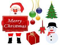 Het ontwerpelementen van Kerstmis Royalty-vrije Stock Afbeeldingen