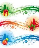 Het ontwerpelementen van Kerstmis Stock Fotografie