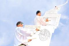 Het ontwerpen Stock Foto