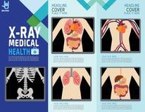 Het ontwerpillustratie van het gezondheids medische vector infographic element vector illustratie