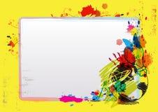 Het ontwerplay-out van de kunst vector illustratie