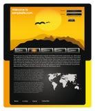 Het ontwerpmalplaatje 58 van de website Royalty-vrije Stock Foto
