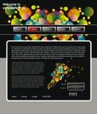 Het ontwerpmalplaatje 60 van de website Royalty-vrije Stock Foto's