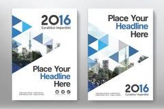 Het Ontwerpmalplaatje stads Achtergrond van de Bedrijfsboekdekking in A4 Royalty-vrije Stock Fotografie