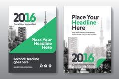 Het Ontwerpmalplaatje stads Achtergrond van de Bedrijfsboekdekking in A4 Stock Foto