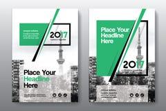 Het Ontwerpmalplaatje stads Achtergrond van de Bedrijfsboekdekking in A4 Stock Fotografie