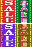 Het ontwerpmalplaatje van de verkoop Stock Fotografie