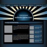Het ontwerpmalplaatje van de website Royalty-vrije Stock Foto's