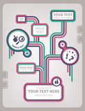 Het ontwerpmalplaatje van het Web Royalty-vrije Stock Foto