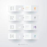 Het ontwerpmalplaatje van Infographics Royalty-vrije Stock Foto's
