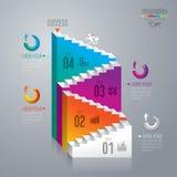 Het ontwerpmalplaatje van Infographics Royalty-vrije Stock Fotografie