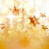 Het ontwerpmalplaatje van Kerstmissterren. Royalty-vrije Stock Afbeelding