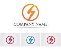 Het ontwerpvector van het bedrijfs collectieve brievens embleem Stock Fotografie
