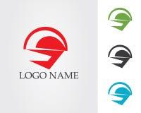 Het ontwerpvector van het bedrijfs collectieve brievens embleem Stock Afbeeldingen