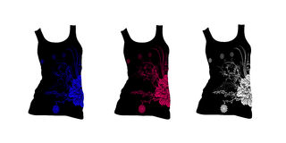 Het ontwerpvector van de t-shirt Stock Foto