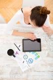 Het ontwikkelen van een businessplan Stock Afbeeldingen