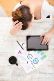 Het ontwikkelen van een businessplan Stock Afbeelding