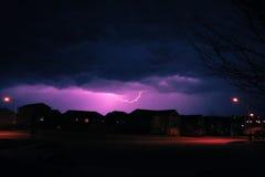 Het onweer Stock Foto's