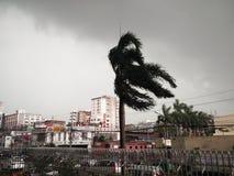 Het onweer stock fotografie