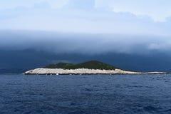 Het onweer heeft komst royalty-vrije stock foto