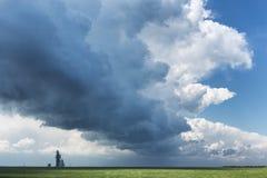 Het onweer komt stock fotografie