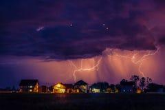 Het onweer komt Royalty-vrije Stock Foto's