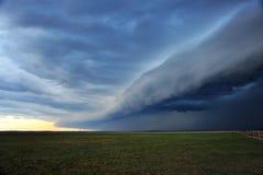 Het onweer komt Stock Foto's