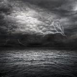 Het Onweer van de Atlantische Oceaan Stock Foto