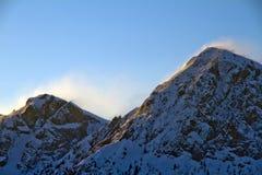 Het onweer van de berg Royalty-vrije Stock Fotografie