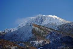 Het Onweer van de berg op Benediktenwand Royalty-vrije Stock Fotografie