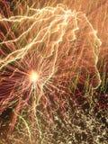 Het Onweer van de kleur. Verminking van Verwezenlijking. Royalty-vrije Stock Fotografie