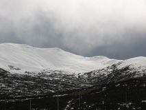 Het onweer van de winter royalty-vrije stock afbeelding