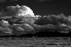 Het Onweer van de woestijn Stock Afbeelding