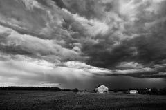 Het onweer van de zomer Stock Afbeeldingen