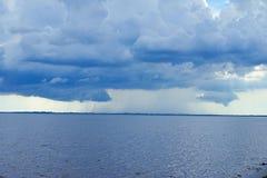 Het onweer van het de baaistrand van Tamper Stock Fotografie