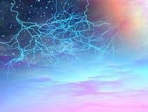 Het onweer van het heelal Royalty-vrije Stock Fotografie