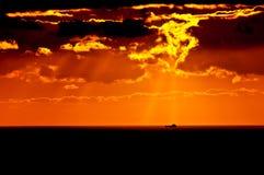 Het Onweer van Pefrect Stock Fotografie