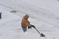 Het Onweer van sneeuw Juno Royalty-vrije Stock Afbeeldingen