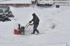 Het Onweer van sneeuw Juno Stock Foto
