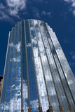 Het onzichtbare gebouw Stock Afbeeldingen