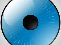Het oog. Stock Foto