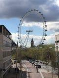 Het Oog en Big Ben van Londen Royalty-vrije Stock Foto
