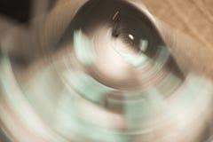 Het oog van aarde Stock Foto