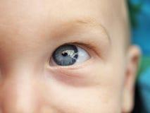 Het oog van de baby Royalty-vrije Stock Afbeeldingen